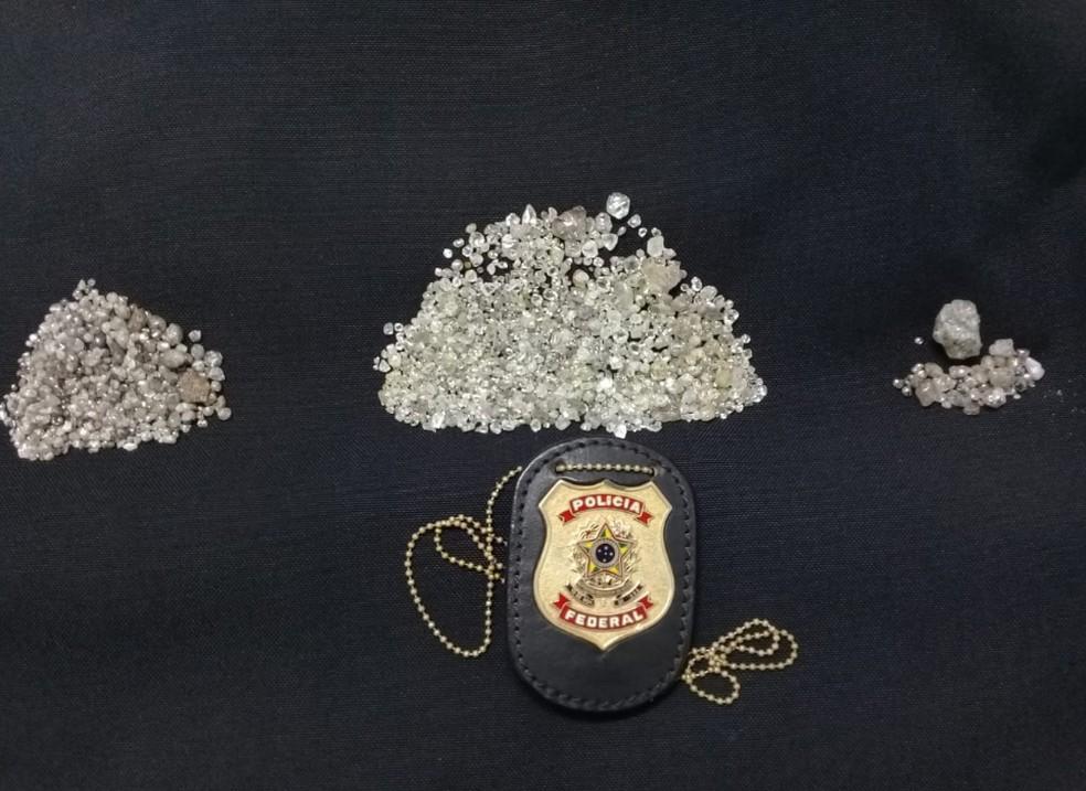 PF deflagra operação contra exploração ilegal de diamantes na Reserva Roosevelt (RO)